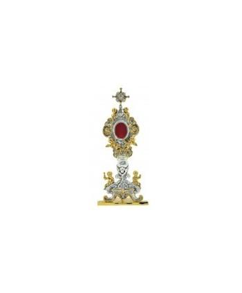Reliquiario ottone angeli