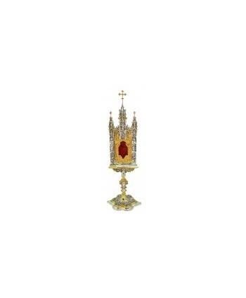 Reliquario gotico bicolore