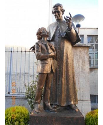 Don Bosco con Domenico Savio
