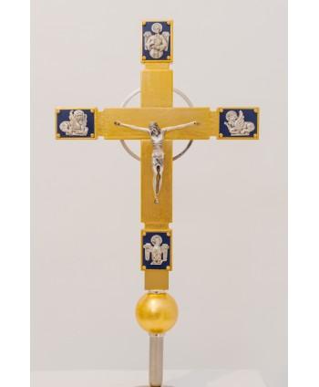 Croce astile Evangelisti in...