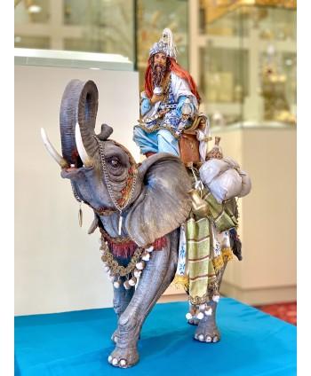 Re Magio su elefante