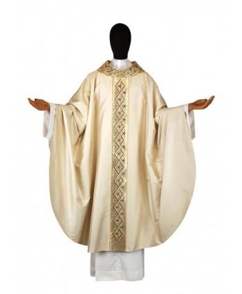 Casula bianca in seta
