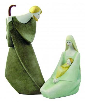 San Giuseppe con Maria e...